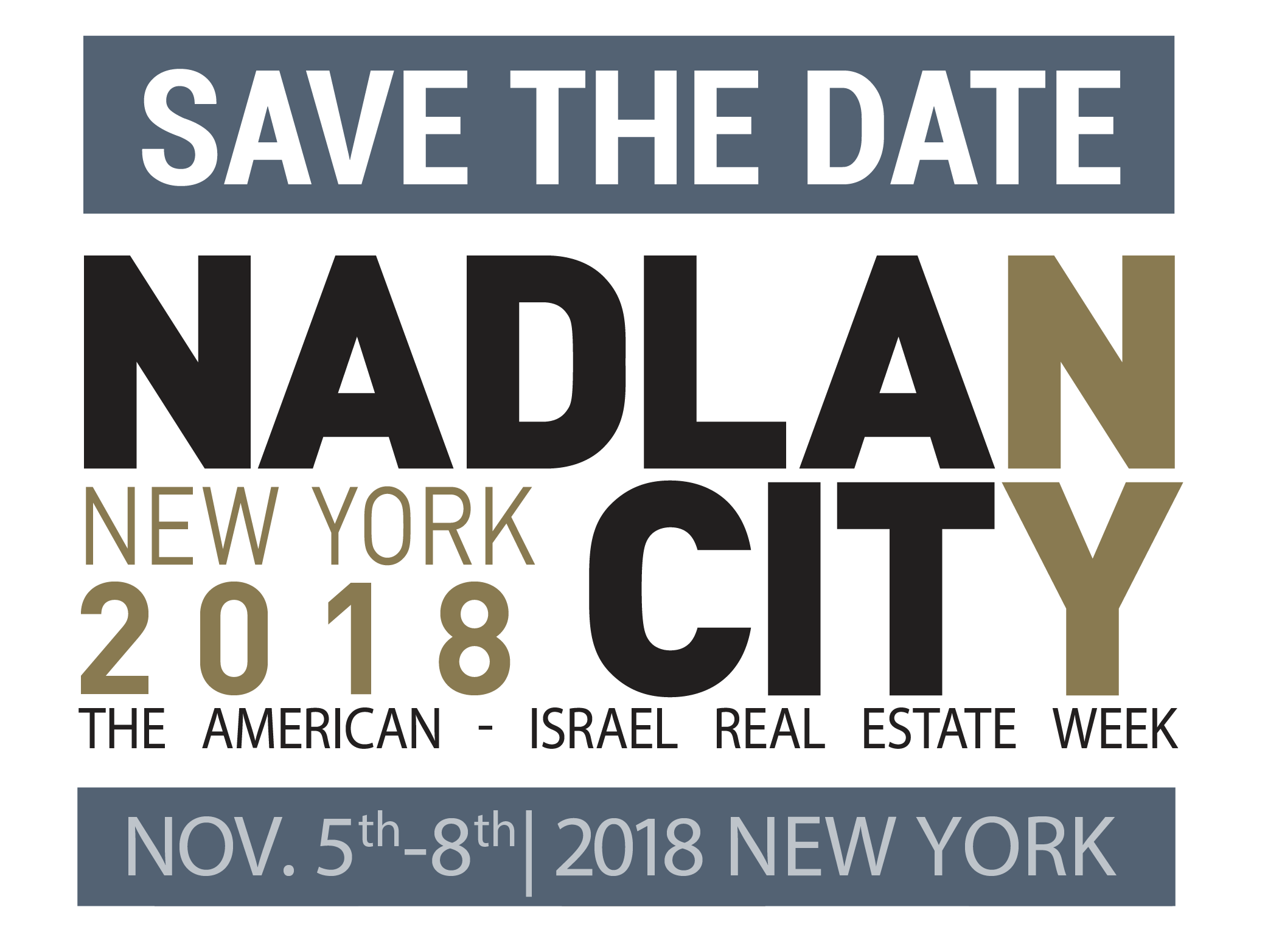 SAVE THE DATE NY18